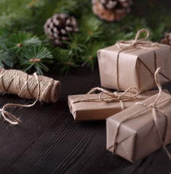 Cadeaus verpakt PersoonlijkeNoot