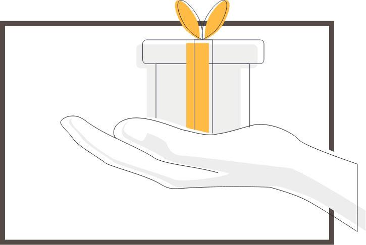 Geschenk geven PersoonlijkeNoot